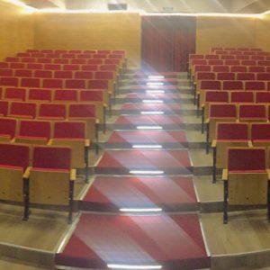 Revestimiento panel acustico auditorio
